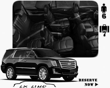 SUV Escalade for hire in Oklahoma City OK