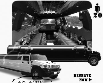 hummer H2 SUV Limo in Oklahoma City OK