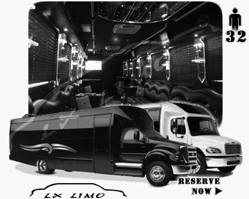 Party Limo Bus rental