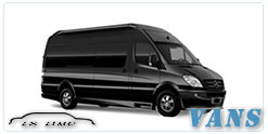 Luxury Van service in Oklahoma City