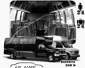 Oklahoma City Mini bus for hire