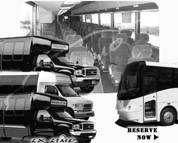 Oklahoma City Bus rental 36 passenger