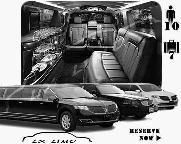 Stretch Limo airport shuttle in Oklahoma City