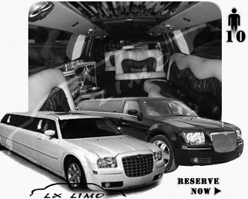 Chrysler 300 Limo for wedding in Oklahoma City