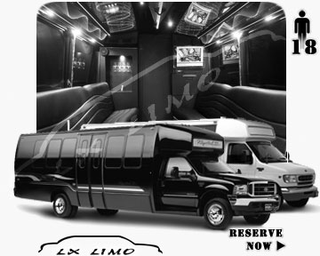 Oklahoma City Party Bus rental